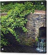 Garden Scene Acrylic Print by Svetlana Sewell
