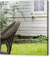 Garden Seat Acrylic Print