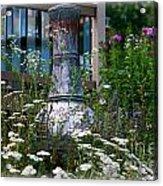 Garden Sentry Acrylic Print