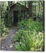Garden Shed Acrylic Print