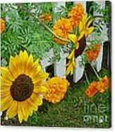 Garden Show-offs Acrylic Print