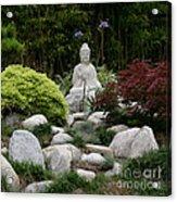 Garden Statue Acrylic Print