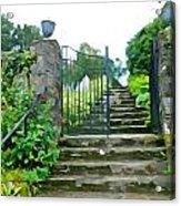 Garden Steps Acrylic Print