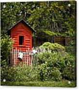 Garden Still Life Acrylic Print