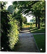 Garden Stroll Acrylic Print