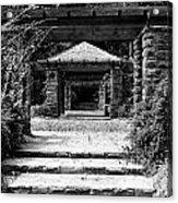 Garden Structure 1bw Acrylic Print