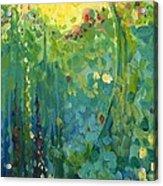 Garden Sunrise Acrylic Print