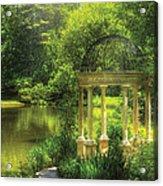 Garden - The Temple Of Love Acrylic Print