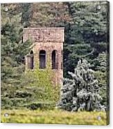 Garden Tower At Longwood Gardens - Delaware Acrylic Print