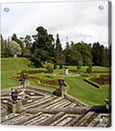 Garden View - Powerscourt Garden Acrylic Print