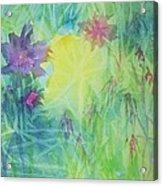 Garden Vortex Acrylic Print