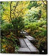 Garden Walkway Acrylic Print