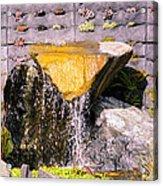 Garden Wall Acrylic Print
