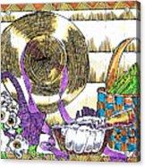 Gardener's Basket Acrylic Print