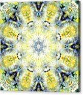 Gardenia Mandala Acrylic Print