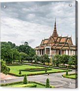 Gardens At The Royal Palace In Phnom Acrylic Print