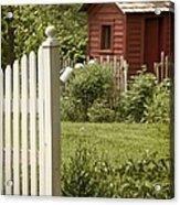 Garden's Entrance Acrylic Print