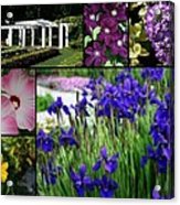 Gardens Of Beauty Acrylic Print
