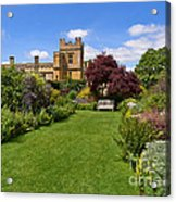 Gardens Of Sudeley Castle In The Cotswolds Acrylic Print