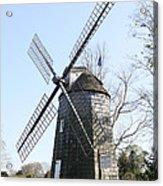 Gardiner Windmill East Hampton New York Acrylic Print