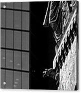 Gargoyle And Glass Acrylic Print