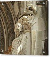 Gargoyle And The Lamb Acrylic Print