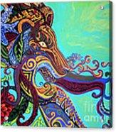 Gargoyle Lion 3 Acrylic Print