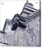 Gargoyle On The Italian Vault Acrylic Print
