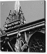 Gargoyles King's College Chapel Tower Acrylic Print