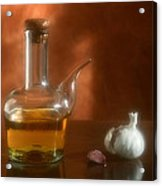 Garlic And Olive Oil. Acrylic Print