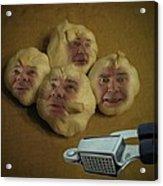 Garlic Heads  Acrylic Print