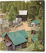 Garnet In Montana Acrylic Print
