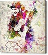 Garth Brooks Acrylic Print