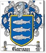 Garvan Coat Of Arms Irish Acrylic Print