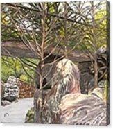 Garvan Garden Bridge Acrylic Print