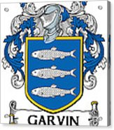 Garvin Coat Of Arms Irish Acrylic Print