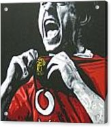 Gary Neville - Manchester United Fc Acrylic Print