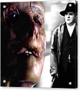 Gary Oldman And Anthony Hopkins In The Film Hanibbal By Ridley Scott Acrylic Print