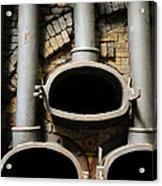 Gas Distilation Acrylic Print