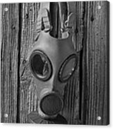 Gas Mask Acrylic Print
