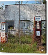 Gas Please Acrylic Print