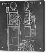 Gas Pump Patent Acrylic Print