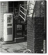 Gas Station Abstract Acrylic Print