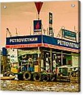 Gas Station Vietnam Style Acrylic Print