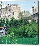 Gascony Village Acrylic Print