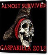 Gasparilla 2013 Postertshirt Work B Acrylic Print