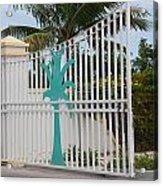 Gate 1 Acrylic Print