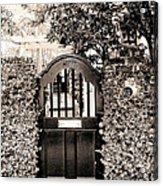 Gate 69 Charleston Sc Acrylic Print