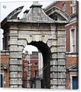 Gate Of Justice - Dublin Castle Acrylic Print