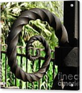 Gate Ornament 4 Acrylic Print
